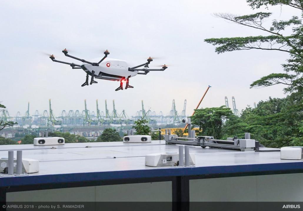airbus skyways drones